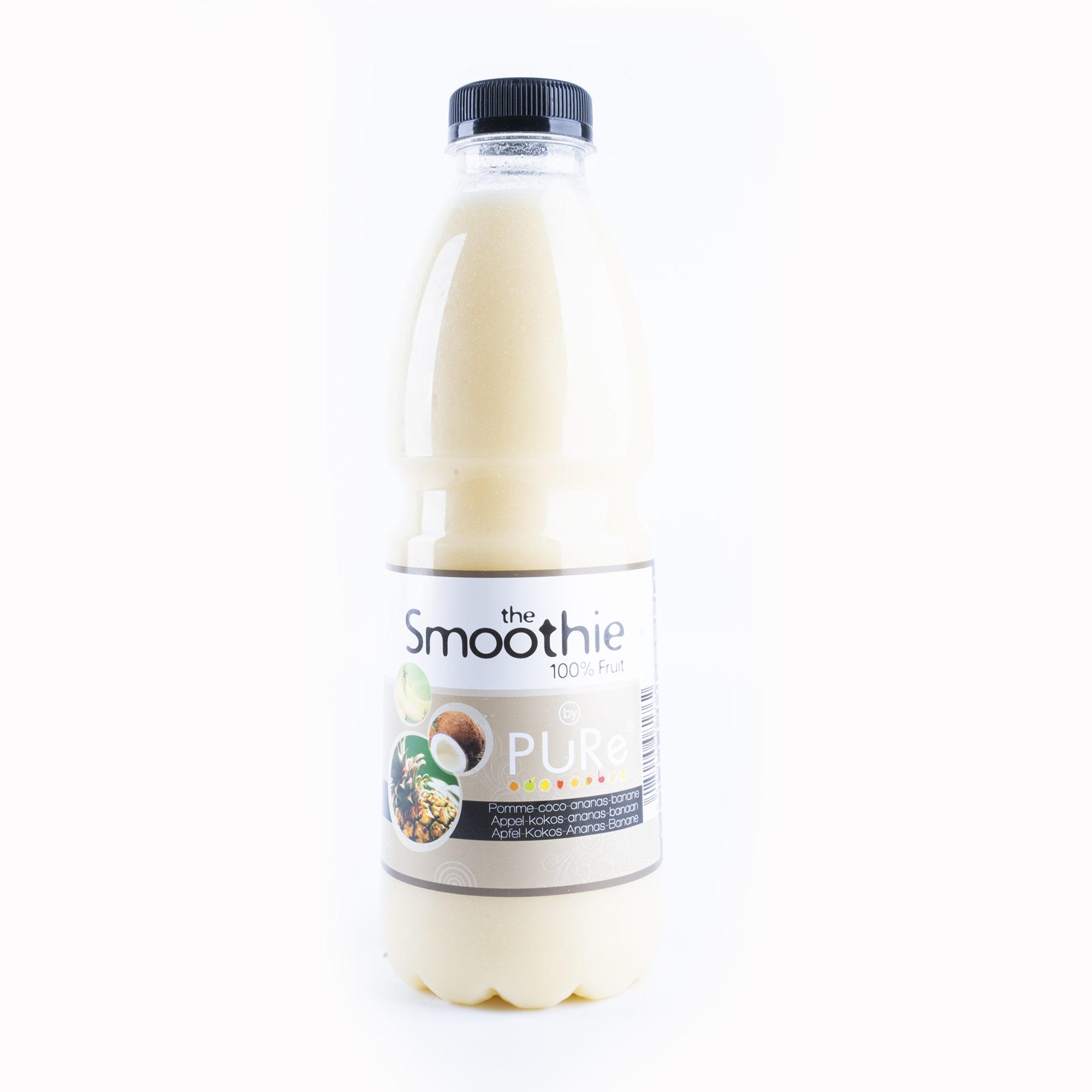 The Juicy Group - Pure - Smoothie van kokos-ananas-banaan - Pure 1L.