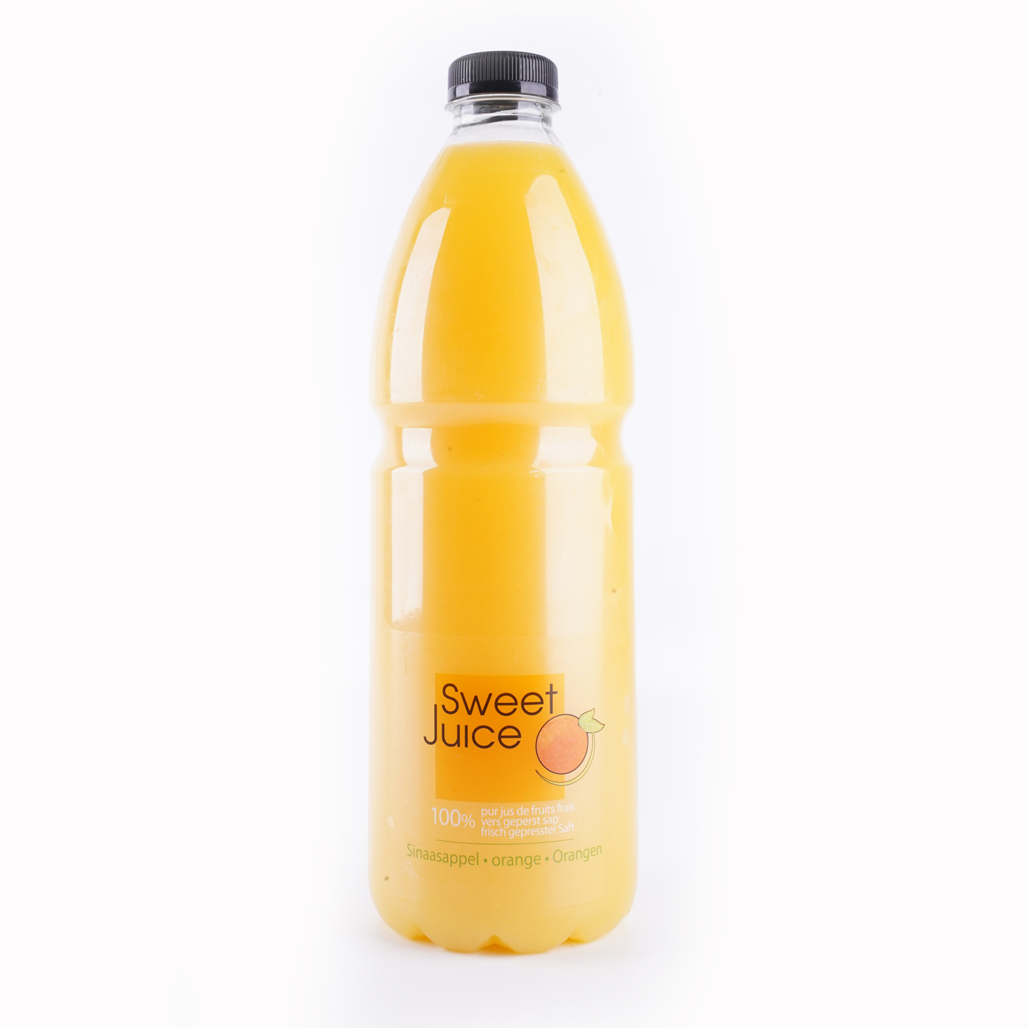 The Juicy Group - Pure - Sap van sinaasappel - HPP Pure 2L.