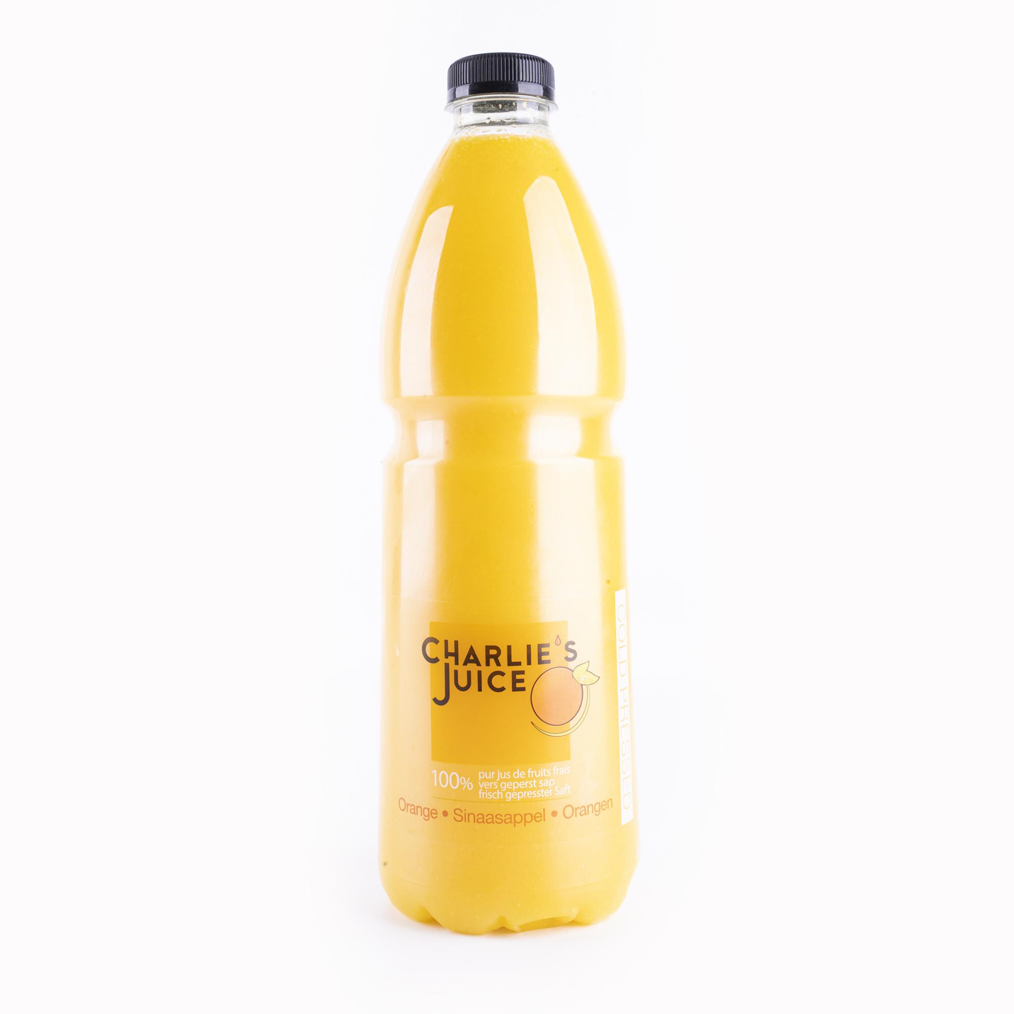 The Juicy Group - Charlie's Juice - Jus d'orange - HPP Pure 2L