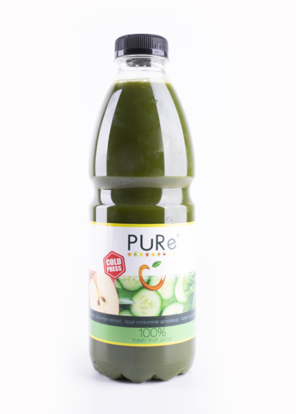 The Juicy Group - Pure - Jus de concombre d'épinards Pure HPP 1L