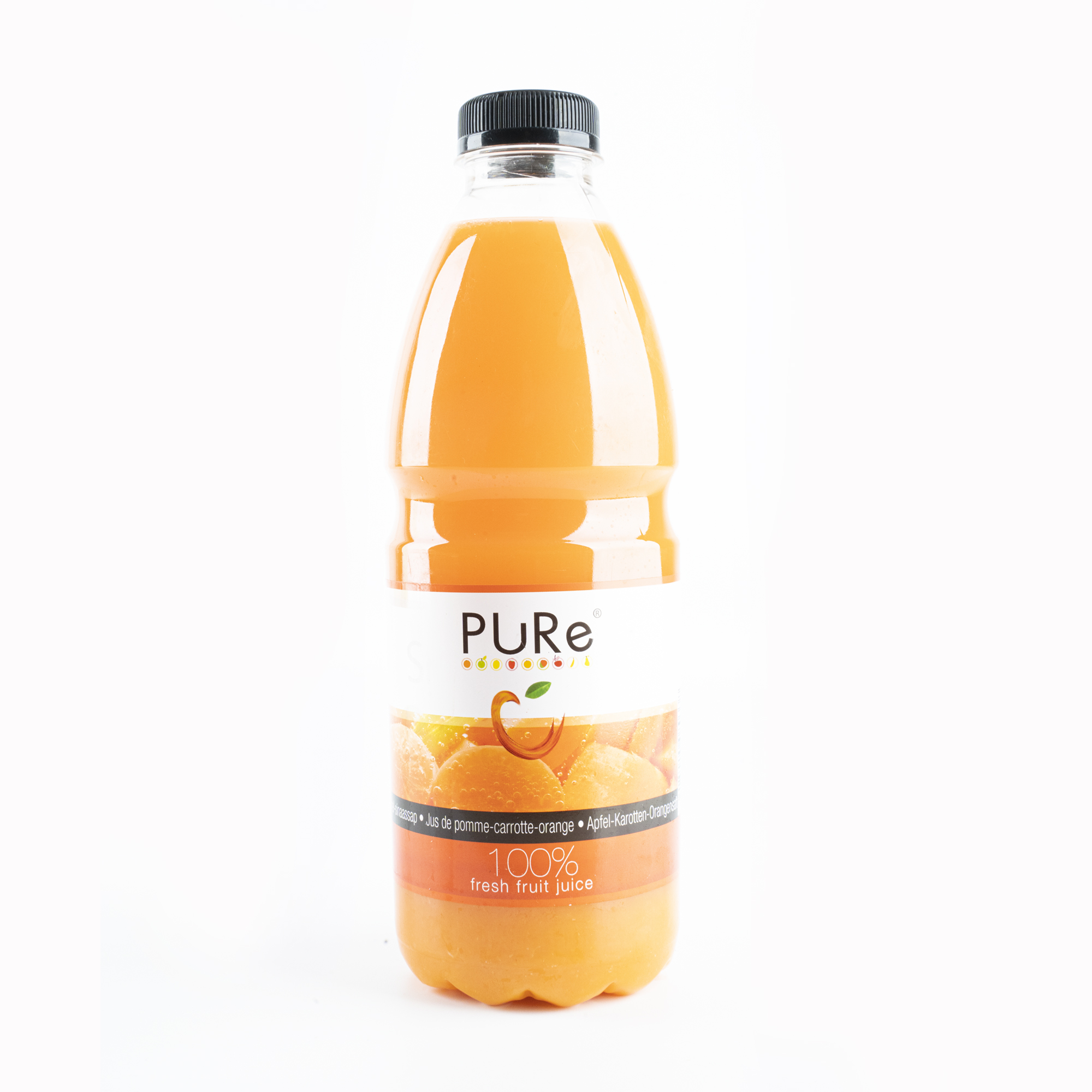 The Juicy Group - Pure -Sap wortel-sinaasappel - Pure HPP 1L