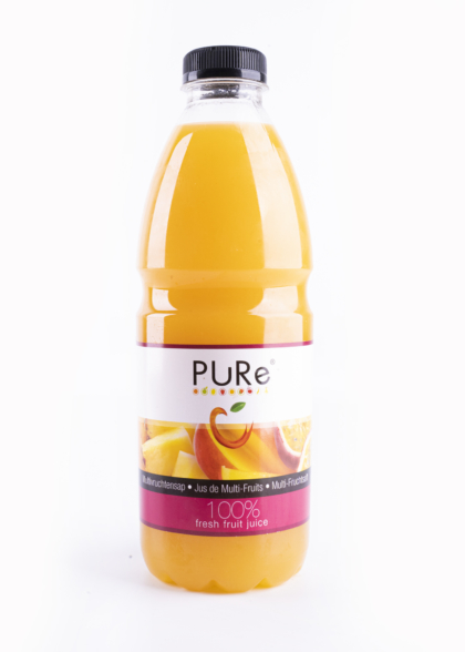 The Juicy Group - Pure - Jus de multifruits - Pure HPP 1L.