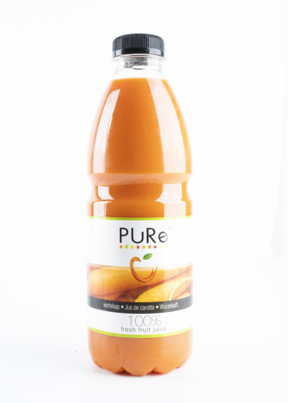 The Juicy Group - Pure - Jus 100% jus de carotte - Pure HPP 1L