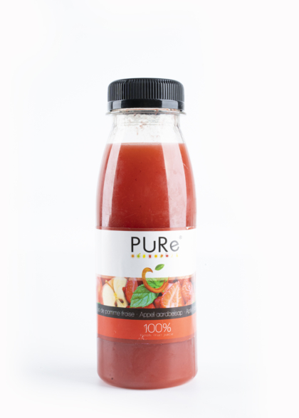 The Juicy Group – PURE - Sap aardbei Pure HPP 25cl