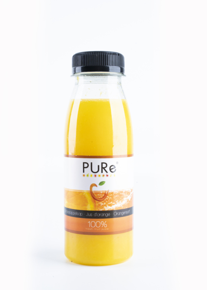 The Juicy Group - Pure - Jus d'orange Pure HPP 25cl