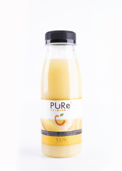 The Juicy Group - Pure - Jus de banane-orange-citron - Pure HPP 25cl