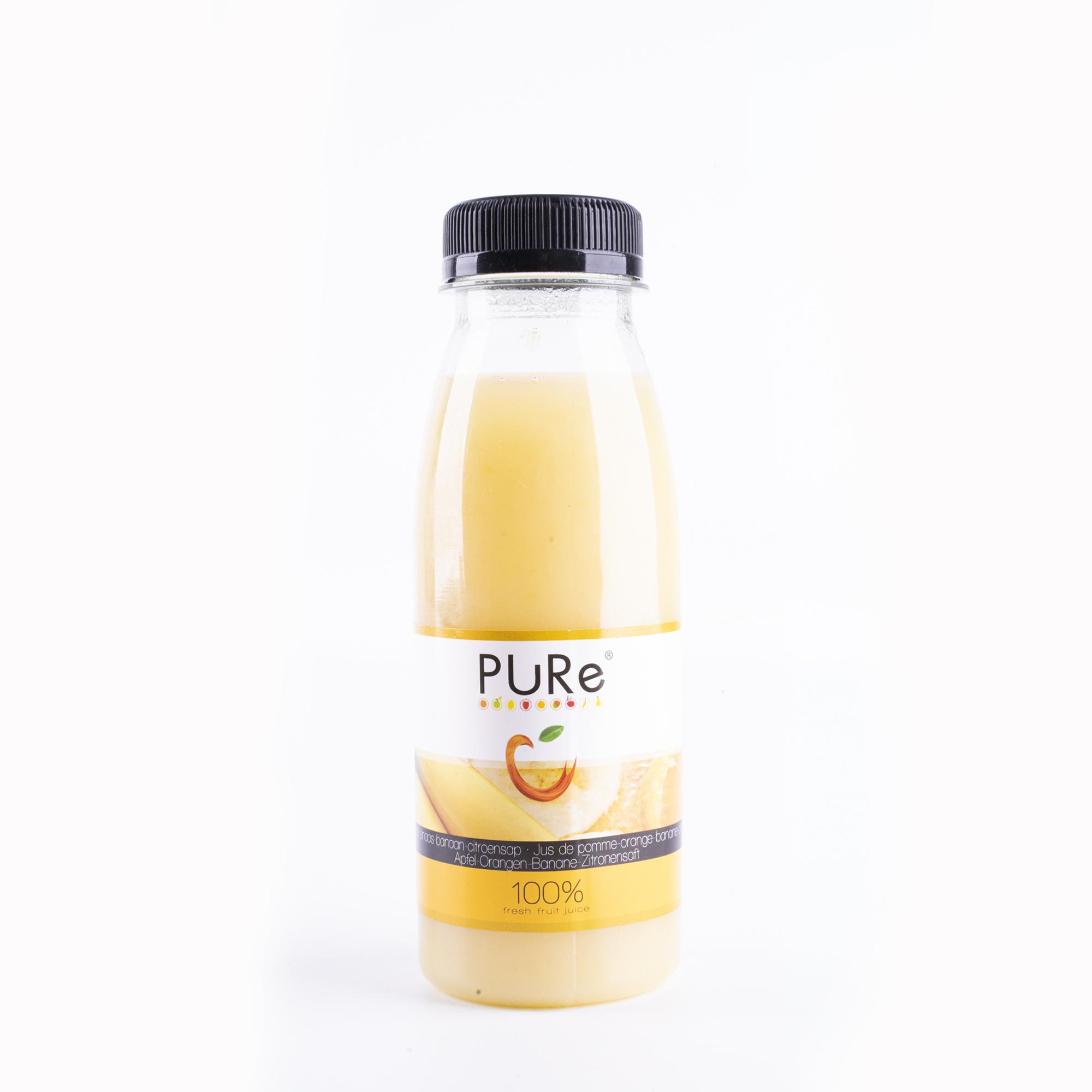 The Juicy Group - Pure - Sap van banaan-sinaas-citroen